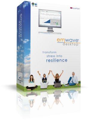 emWave PRO + Pack - интерактивна обучаваща биофидбек система с HRV нормативна база данни