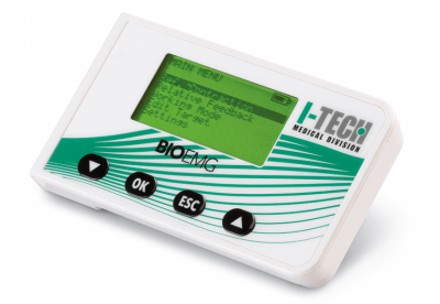 BIO-EMG - ЕМГ-биофийдбек апарат за рехабилитация на невро-мускулни нарушения с игрова обратна връзка за промените в мускулния тонус